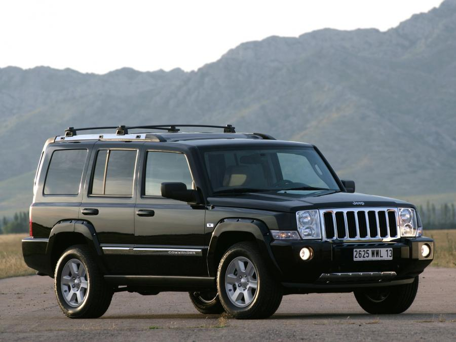 Jeep Commander Limited (UK) '2006