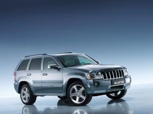 Jeep Grand Cherokee BlueTec Concept 2006 года