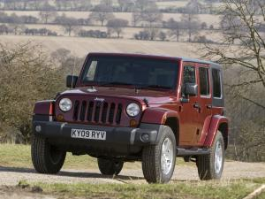 Jeep Wrangler Sahara Unlimited 2007 года