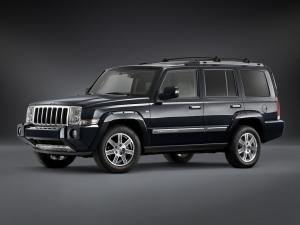 2008 Jeep Commander Overland