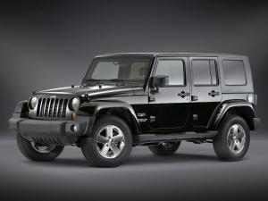 Jeep Wrangler Unlimited Sahara Luxury Leather Package 2008 года