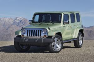 Jeep Wrangler Unlimited EV Concept 2009 года