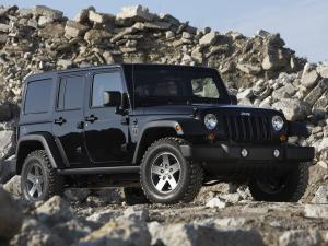 Jeep Wrangler Unlimited Call Of Duty Black Ops Edition 2010 года