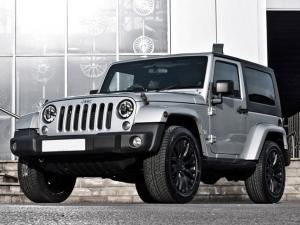 Jeep Wrangler Silver by Project Kahn 2011 года