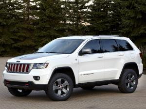 Jeep Grand Cherokee Trailhawk Concept 2012 года