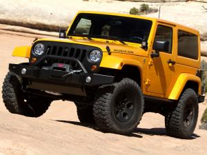 Jeep Wrangler Mopar Accessorized Concept 2012 года