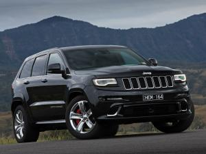 Jeep Grand Cherokee SRT 2013 года (AU)