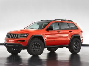 Jeep Grand Cherokee Trailhawk II Concept 2013 года