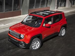 Jeep Renegade Latitude 2014 года