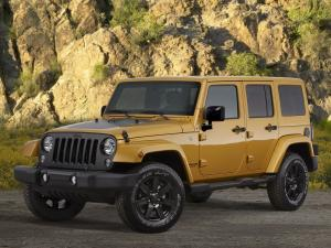 Jeep Wrangler Unlimited Altitude 2014 года