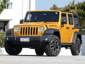 Jeep Wrangler Unlimited Rubicon X 2014 года