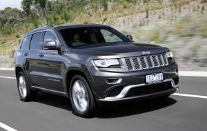 Jeep Grand Cherokee Summit Platinum 2015 года (AU)