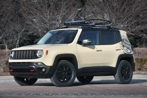 Jeep Renegade Desert Hawk Concept 2015 года