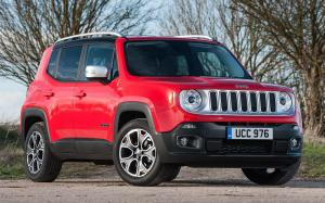 Jeep Renegade Limited 2015 года (UK)