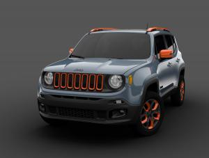 Jeep Renegade Limited by Mopar 2015 года