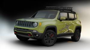 Jeep Renegade Trailhawk by Mopar 2015 года