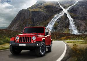 Jeep Wrangler Unlimited X 2015 года