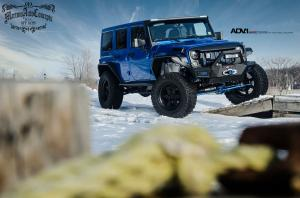 2015 Jeep Wrangler by Martino Auto Concepts on ADV.1 Wheels (ADV6TFSL)