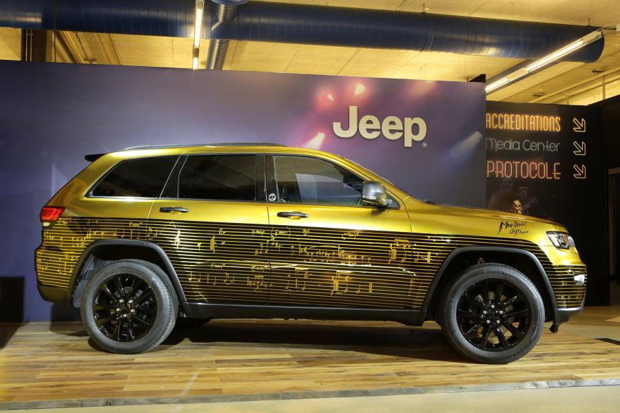 Jeep Grand Cherokee Montreux Jazz Festival Showcar by Garage Italia Customs