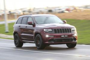 Jeep Grand Cherokee SRT Night 2016 года (AU)