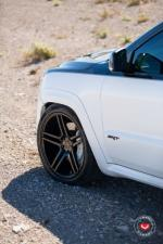 Jeep Grand Cherokee SRT8 Stormtrooper on Vossen Wheels (VPS-302) 2016 года