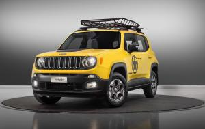 Jeep Renegade Longitude Moparized Concept 2016 года