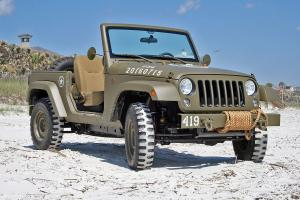 Jeep Wrangler 75th Salute Concept 2016 года