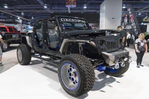 Jeep Wrangler Ultimate by BMS Off Road on Forgiato Wheels (Rivoto-T) 2016 года