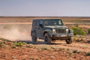 Jeep Wrangler Unlimited 75th Anniversary 2016 года
