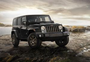 Jeep Wrangler Unlimited 75th Anniversary 2016 года (EU)