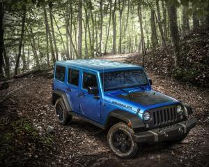 Jeep Wrangler Unlimited Black Bear 2016 года