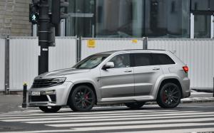 Jeep Grand Cherokee SRT8 Tyrannos by Maxi Customs 2017 года
