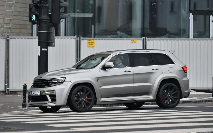 Jeep Grand Cherokee SRT8 Tyrannos by Maxi Customs
