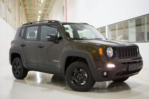 Jeep Renegade Custom 2017 года