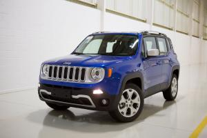 Jeep Renegade Limited 4x4 2017 года