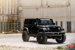 Jeep Wrangler Ultimate X Work on Vossen Wheels (VWS-1) 2017 года