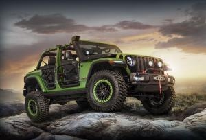 Jeep Wrangler Unlimited Rubicon Moparized 2017 года