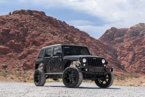 Jeep Wrangler Unlimited Rubicon on Forgiato Wheels (Sporcizia-T) 2017 года