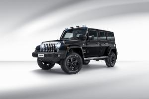 Jeep Wrangler Unlimited Sahara MoparONE Pack 2017 года