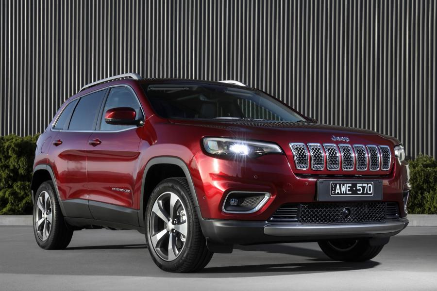 2018 Jeep Cherokee Limited (AU)