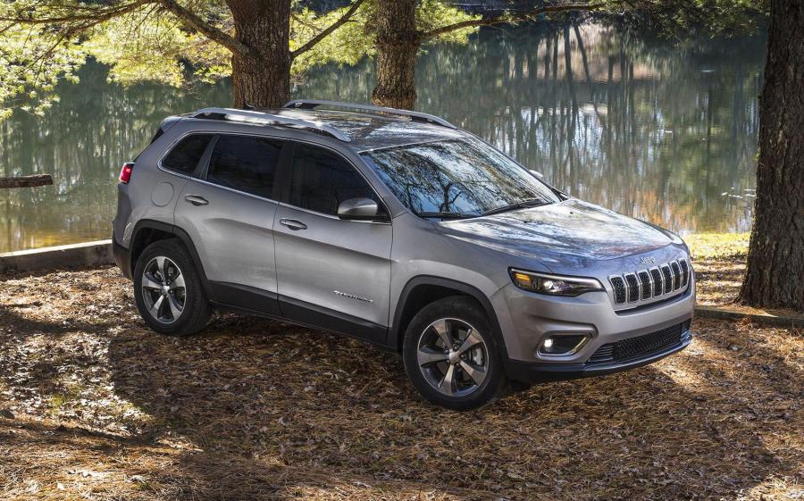 2018 Jeep Cherokee Limited (NA)
