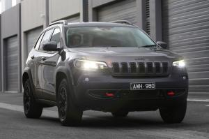 Jeep Cherokee Trailhawk 2018 года (AU)