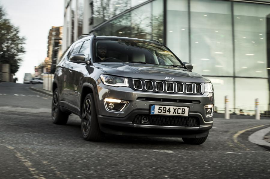2018 Jeep Compass Limited (UK)