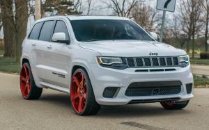 Jeep Grand Cherokee Trackhawk on Forgiato Wheels (S219-ECL) 2018 года