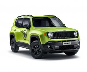 Jeep Renegade Hyper Green by Mopar 2018 года