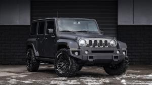2018 Jeep Wrangler Unlimited Black Hawk Edition by Project Kahn