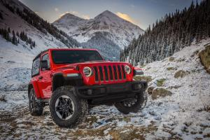 Jeep Wrangler Rubicon 2018 года (NA)