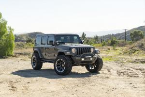 2018 Jeep Wrangler Ultimate by Phantom Motorsport on Forgiato Wheels (FLOW Terra 002)