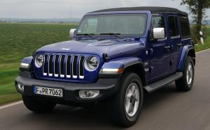 Jeep Wrangler Unlimited Overland 2018 года (EU)