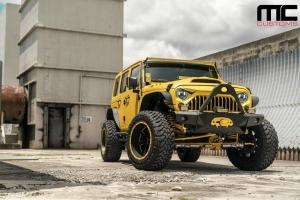 2018 Jeep Wrangler by MC Customs on MOTO Metal Wheels